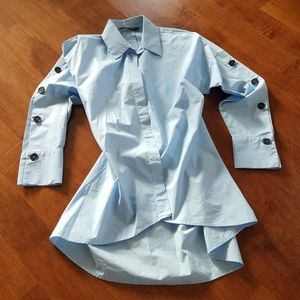 ZARA WOMAN Oversized Button-up - Size S (NWOT)